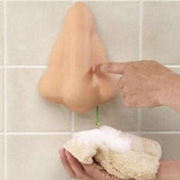 Fun Runny Nose Shower Gel Dispenser (one##01, 1)