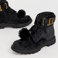 Caterpillar Lace Up Boots at asos.com