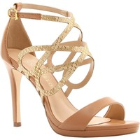 Leather Sandal High Heel - Cecconello