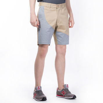 The Essential Chino Shorts in Khaki and Blue