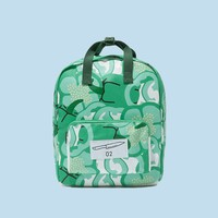 Green Pepper Canvas Backpack