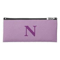 Personalized Monogram Pencil Case