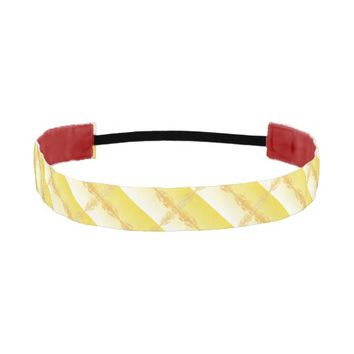 Fire Cross Athletic Headband