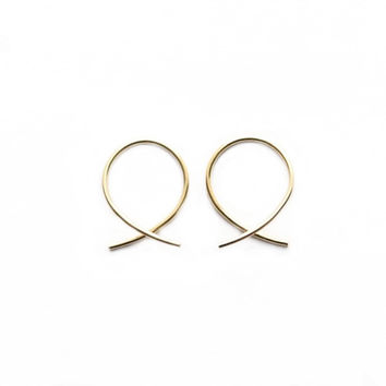 Small Simplicity Hoop Earrings
