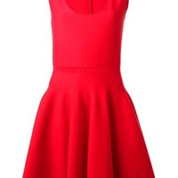 Giambattista Valli Perforated Detail Skater Dress - Paola - Farfetch.com