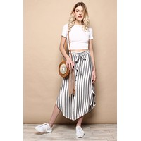 BB Dakota Stripe I Like Skirt