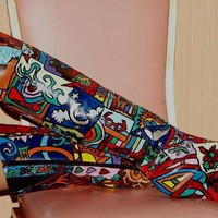 Art Attack Boots by Shoes of Imagination