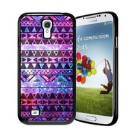 amtonseeshop Nice Brand New Stylish Hot Aztec Tribal Pattern Case (purple geometric figure For Samsung Galaxy S4 i9500)