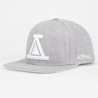 Ayc Icon Mens Snapback Hat Grey One Size For Men 26888811501