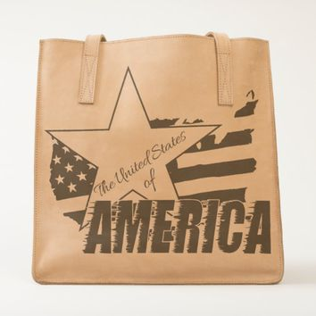 The United States Of America 4th of July Tote