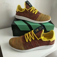 """""""Adidas NMD HU"""" Men Sport Casual Multicolor Flyknit Sneakers Fashion Running Shoes"""