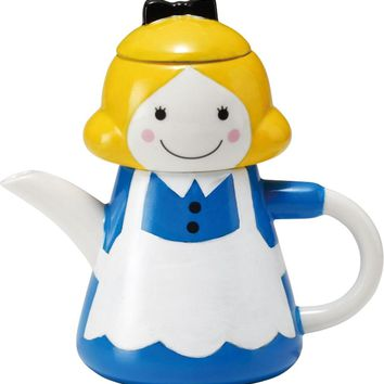 Alice In Wonderland Tea For One Teapot Set