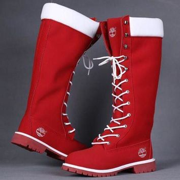Timberland Rhubarb boots for men and women shoes waterproof Martin boots lovers I-4