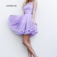 Sherri Hill Short Dress 11091 at Prom Dress Shop