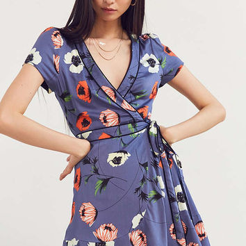 Kimchi Blue Rita Wrap Dress | Urban Outfitters
