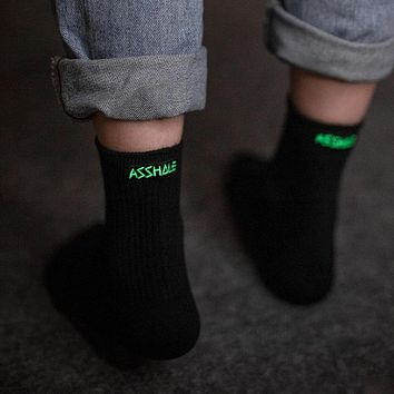 Glow In The Dark Profanity Socks