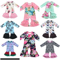 Cotton Baby Ruffle Rompers 14 Designs