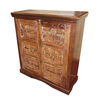 Antique Sideboard Chest Furniture Tv Console Cabinet