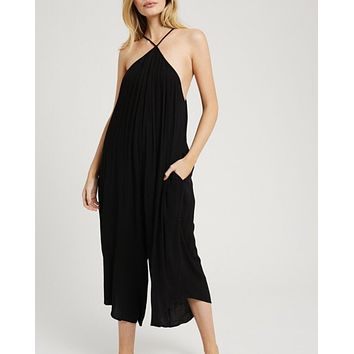 Halter Oversized Jumpsuit