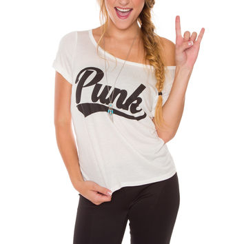 Punk Top - White