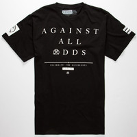 Civil Against All Odds Mens T-Shirt Black  In Sizes