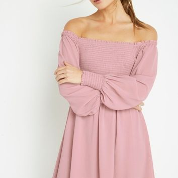 Barett Off the Shoulder Dress