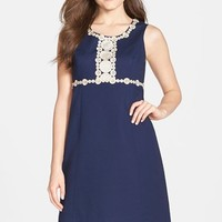 Women's Lilly Pulitzer 'Rosie' Lace Trim Shift Dress,