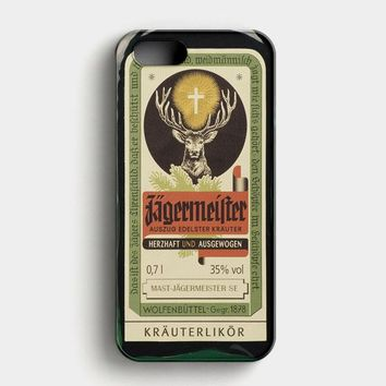 Jagermeister Retro Bottle iPhone SE Case