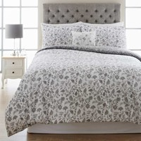 100 Cotton Floral Duvet Set - Matalan