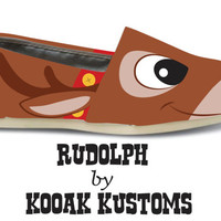 KOOAK Kustoms Rudolph Toms Flats