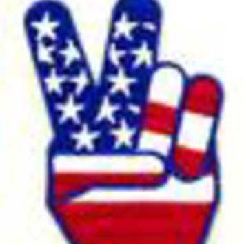 Peace Fingers Patch