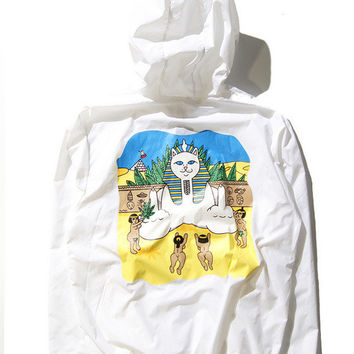 Women & Men RIPNDIP  Windbreaker Rashguard Jacket [9273769543]