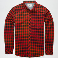 Billabong Riviera Mens Shirt Red  In Sizes