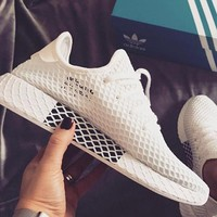 Adidas Deerupt Running Shoes Runner Trifolium Mesh Sneakers Shoes