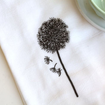 Oh So Homey Kitchen Flour Sack Towel Make a Wish by AppleWhite