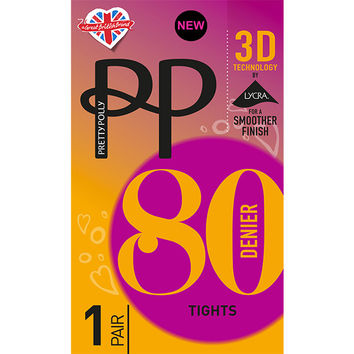 Pretty Polly: Opaque Tights 80 Denier