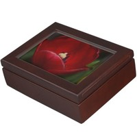 Beautiful Red Tulip Keepsakes