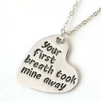 Love Message Pendant Necklace-Baby
