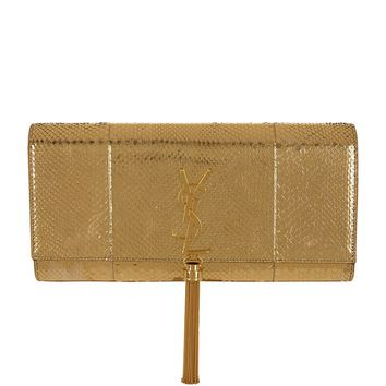 yves saint lauren bag - yves saint laurent mirror monogram clutch with tassel, ysl clutch ...