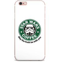 "Starbucks Star Wars ""May The Froth Be With You"" Apple iPhone 6/6s (4.7 inch)"