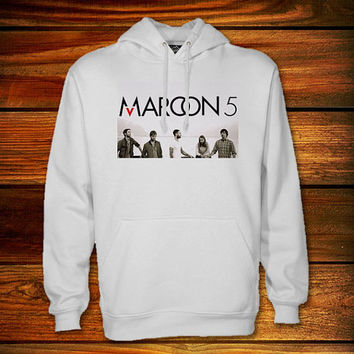 Maroon 5 Hoodie,Maroon 5 Sweater Black and White