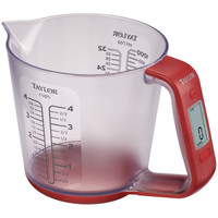 Taylor 6.6lb Capacity Digital Measuring Cup Scale