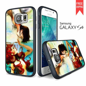 Ariel And Eric The Little Mermaid Disney Samsung Galaxy S6 Case