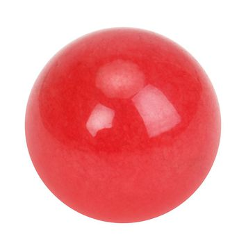 20mm Natural Red Agate Jade Crystal Ball Healing Sphere Magic Healing Crystals Balls Sphere gemstone  + Stand DIY Jewelry