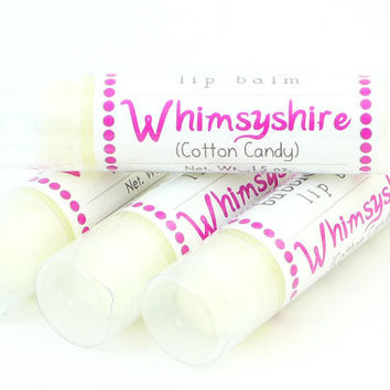 Whimsyshire Lip Balm - Cotton Candy flavored