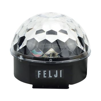 Felji DJ Club Disco Party Bar Crystal LED Ball Projector Stage Effect Light