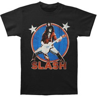 Slash Men's  Deteriorated Stars T-shirt Black