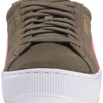 puma women s vikky platform fashion sneaker  number 1