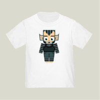 Wolf Boy Blue Toddler T-Shirts by boxedspapercrafts on BoomBoomPrints