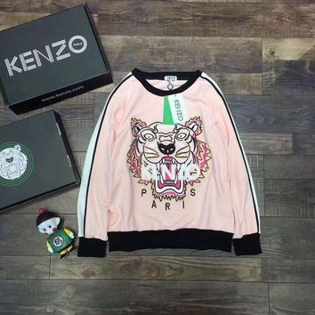 PEAPON 'KENZO'' Women Fashion Casual Long Sleeve Sport Top Sweater Pullover Sweatshirt